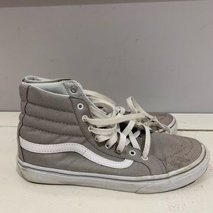 Women's Vans High top canvas sneakers